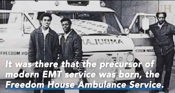 Freedom House ambulance service