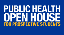 Open House for prospective students, Pitt Public Health