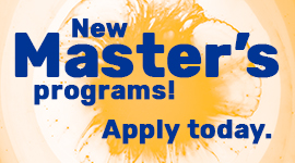 New master's programs - Appy Today!